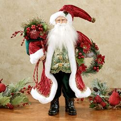 Gallant Santa Figurine Multi Jewel