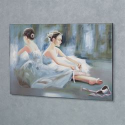 Quiet Reflection Canvas Art Powder Blue