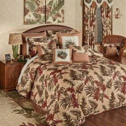 Key West Grande Bedspread Multi Warm