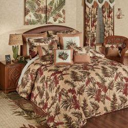Key West Grande Bedspread Multi Warm