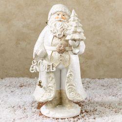 Noel Santa Figurine Off White