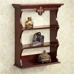 Kingscourt Wall Shelf Regal Walnut