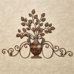 Majestic Urn Wall Decor Bronze