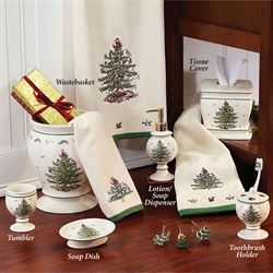 Christmas Tree Lotion Soap Dispenser Light Cream