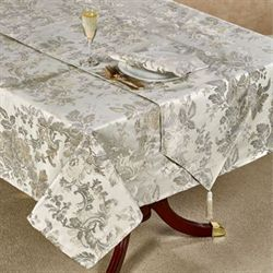 Marcia Oblong Tablecloth Light Almond