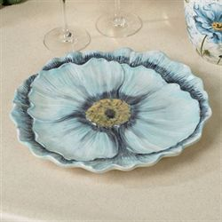 Tuileries Garden Charger Plate Light Blue