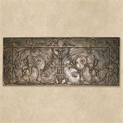St Pauls Gate Wall Plaque Antique Bronze