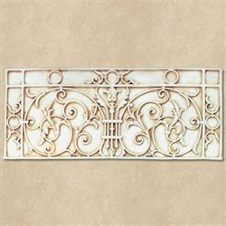 St Pauls Gate Wall Plaque Antique Ivory