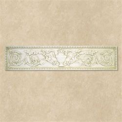 Urn Wall Plaque Antique White