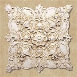 Fiorenza Wall Plaque Antique Ivory