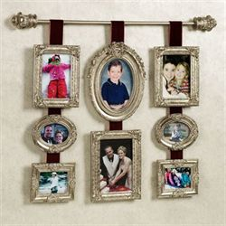 Princella Multi Photo Wall Accent Pewter