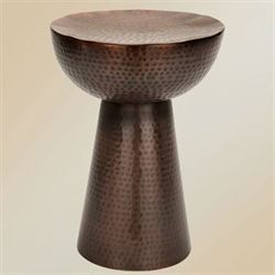 Catullo Garden Stool Bronze