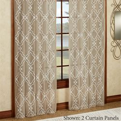 Carlyle Tailored Curtain Panel Light Taupe