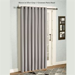 Glasgow Grommet Patio Panel 112 x 84