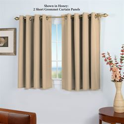 Glasgow Short Grommet Curtain Panel