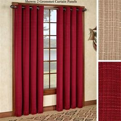 Manhattan Grommet Curtain Panel 54 x 84