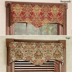 Como Scalloped Valance 50 x 17