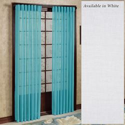 Tropical Breeze Back Tab Curtain Panel