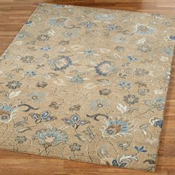 Helena Rectangle Rug Light Brown