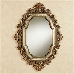 Verena Wall Mirror Antique Gold