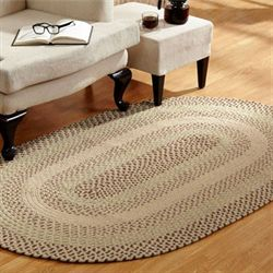 Woodbridge Braided Oval Rug