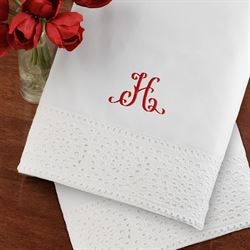 Cutwork Sheet Set White
