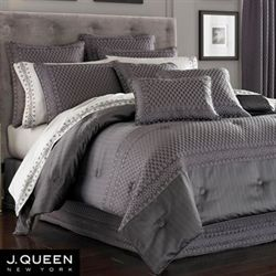 Bohemia Comforter Set Dark Gray
