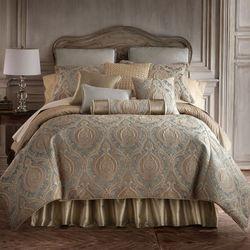 Norwich Comforter Set Aqua Mist