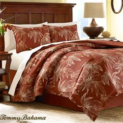 Cayo Coco Duvet Cover Set Rust