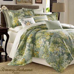 Cuba Cabana Comforter Set Green