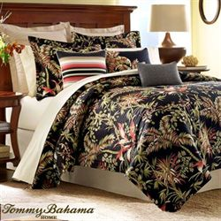 Jungle Drive Comforter Set Black