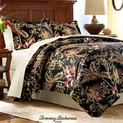 Jungle Drive Duvet Cover Set Black