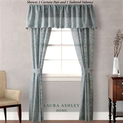 Ardleigh Tailored Curtain Pair Ivory 82 x 84
