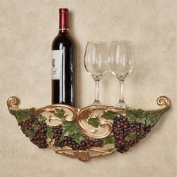 Vigne Elegante Wall Shelf Dark Red