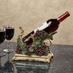 Vigne Elegante Wine Bottle Holder Dark Red