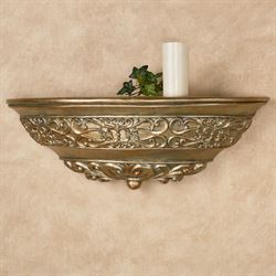 Laryssa Wall Shelf Champagne Gold