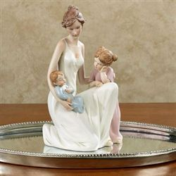 Family Joys Figurine Multi Pastel