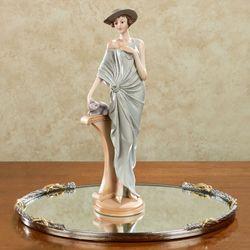 Arista Cat Lady Figurine Platinum Gray
