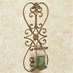 Salvatrice Wall Sconce Satin Gold