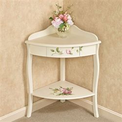 Rosalinde Corner Table Light Cream