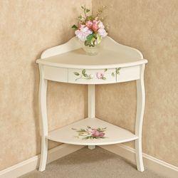 Rosalinde Corner Table Light Cream