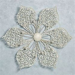 Pretty Petals Wall Art Ivory