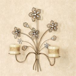 Rosianna Wall Sconce Champagne Gold
