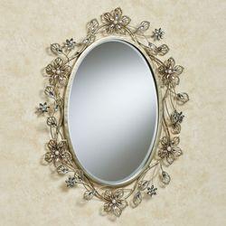 Rosianna Wall Mirror Champagne Gold
