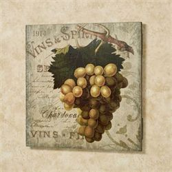 Vintage Wine I Wall Sign Multi Warm