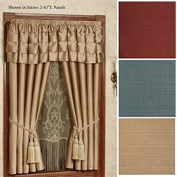 Cameo Curtain Panel and Valance