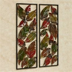 Autumn Impression Wall Art Set Multi Earth Set of Two