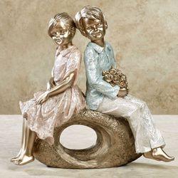 Sweet and Tender Figurine Multi Pastel