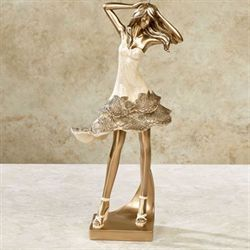 Couture Elegance Figurine Champagne