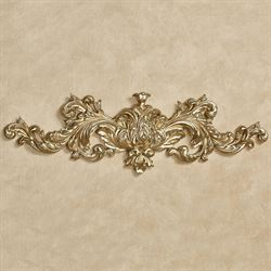 Warrington Decorative Wall Topper Gold